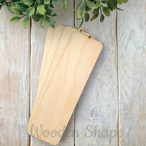 4 Pack Birch Plywood Bookmark