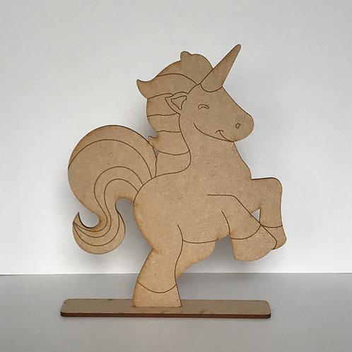 MDF Unicorn on Stand C