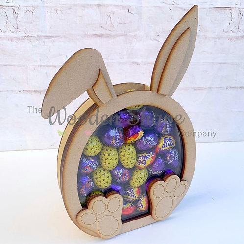 18mm Freestanding Fillable Easter Egg Holder Bunny