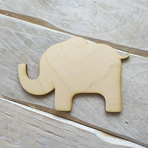 Plywood ELEPHANT Shape 10 PACK