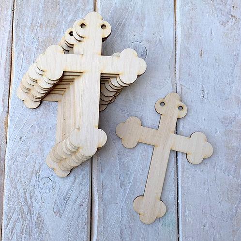 10 Pack Bunting Cross