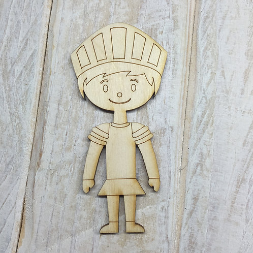 Plywood Knight Shape 10 PACK