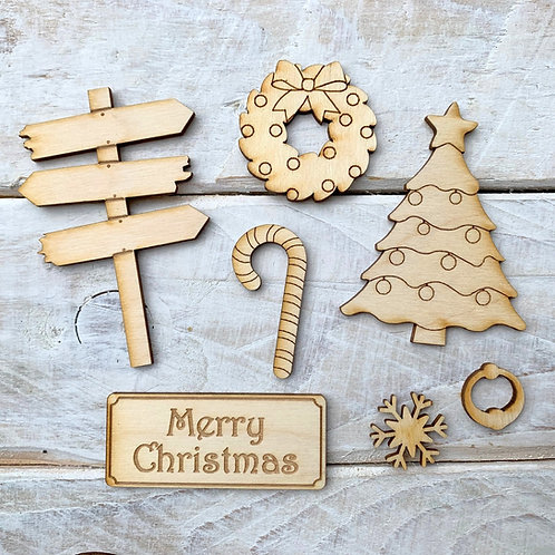 Fairy Door Accessory Kit Christmas Pack