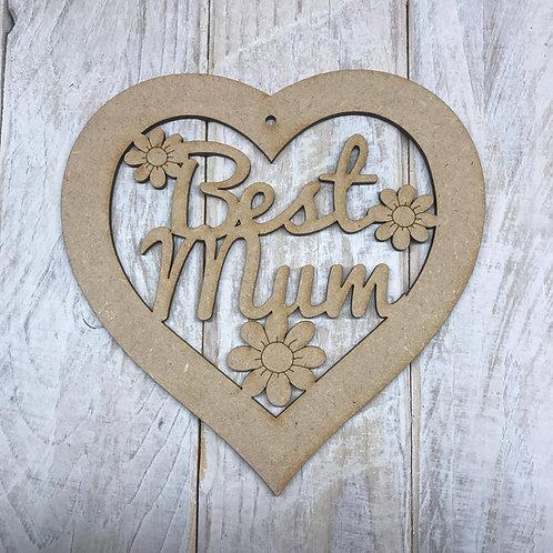Best Mum Heart