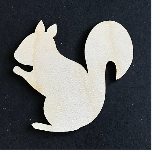 Plywood 10 Pack Shape Squirrel