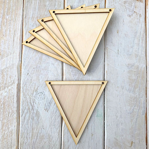 10 Pack Bunting Frame Bunting