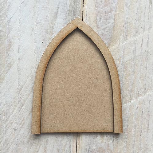 5 Pack MDF Fairy Door Bargain Craft Shape Door P
