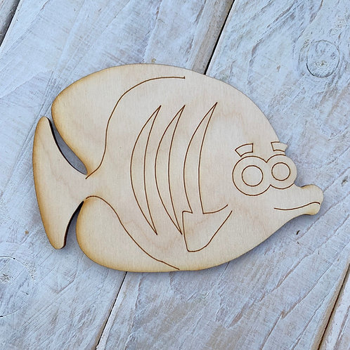 Plywood Fish B 10 Pack