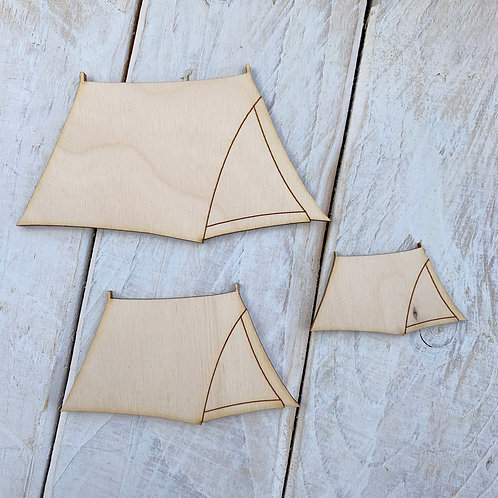 Plywood Tent 10 Pack