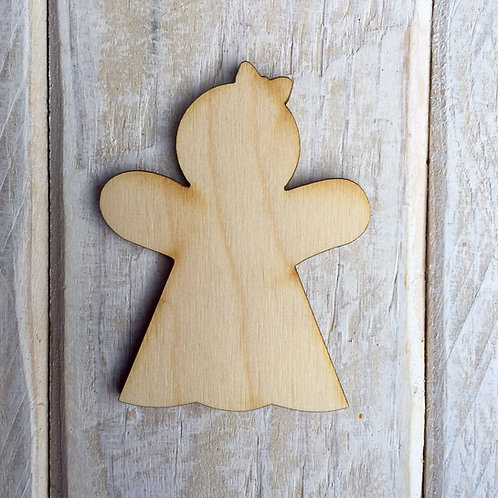 Plywood Gingerwoman Craft Shape 10 PACK