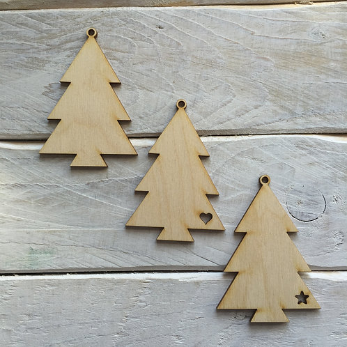 10 Pack Christmas Decorations Tree 02