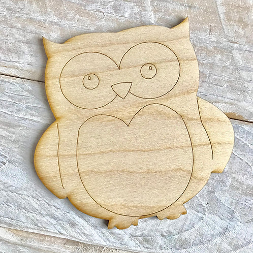 Plywood Owl 10 Pack