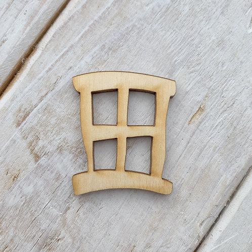 12 Pack Fairy Door Window Hobbit Small