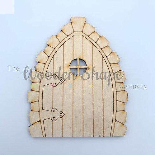 6 Pack Plywood Fairy Door Flat KS