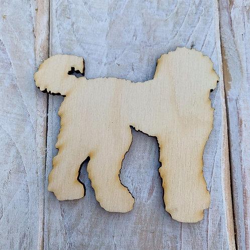 Plywood Cockapoo Dog Shape 10 PACK