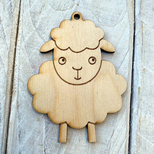 Plywood Easter Lamb 10 Pack