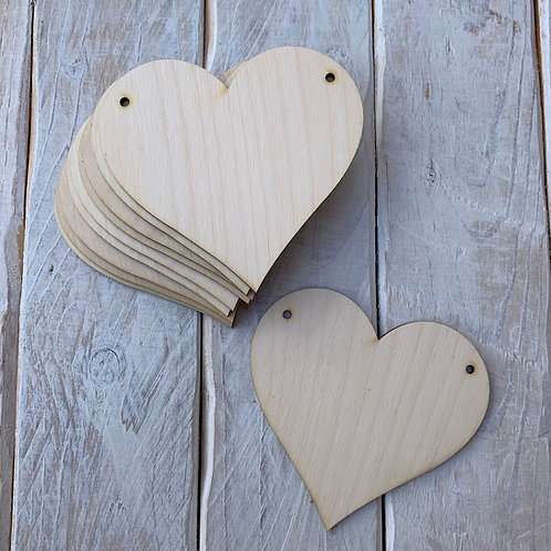 10 Pack Bunting Heart