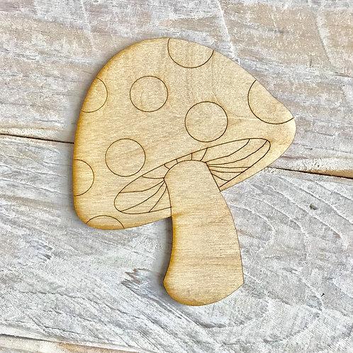 Plywood Mushroom 10 Pack