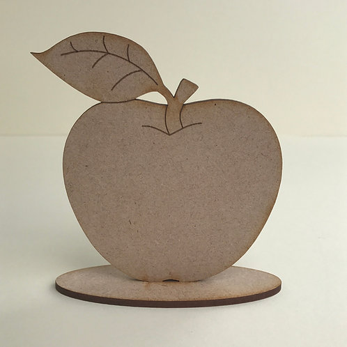 MDF Apple on Stand
