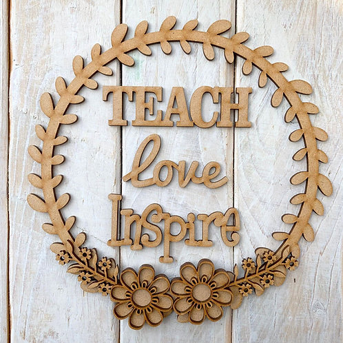 Laurel 1 Hoop Kit Teach Love Inspire