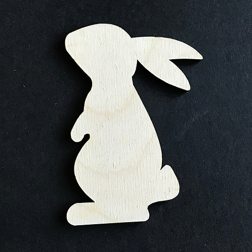 Plywood 10 Pack Shape Easter Bunny Rabbit
