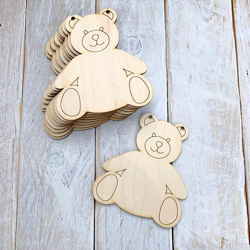 10 Pack Bunting Teddy