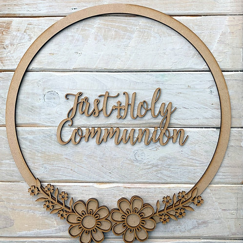 Hoop Kit with First Holy Communion