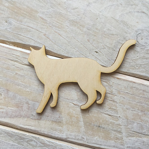 Plywood CAT Shape 10 PACK