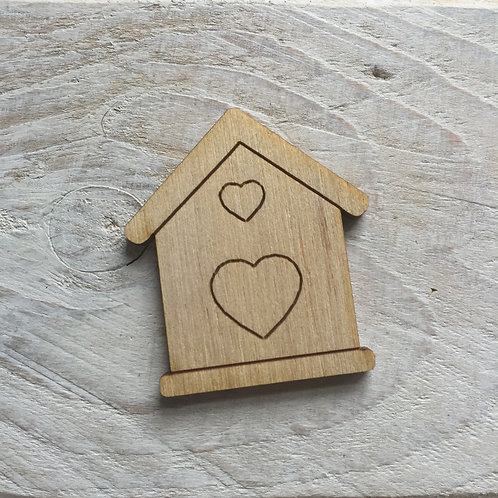 12 Pack Bird House Small
