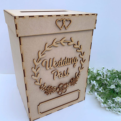 Build Your Own Wedding Post Box