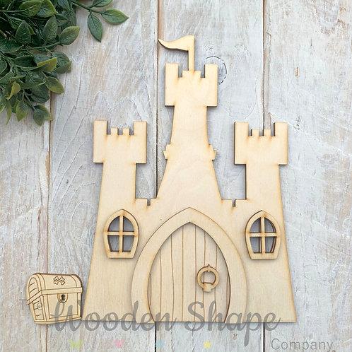 Large Fairy Door Castle Door Code Castle B
