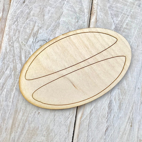 Plywood Rugby Ball 10 Pack