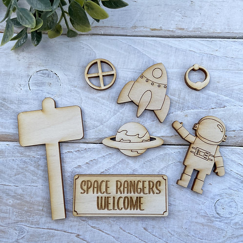 Fairy Door Accessory Kit Space Pack