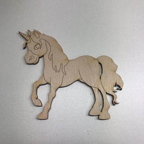 Plywood Unicorn D 10 PACK
