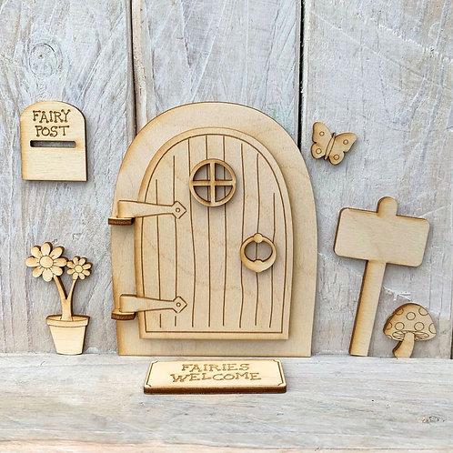 Opening Fairy Door Code Open H