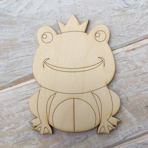 Plywood FROG Prince Shape 10 PACK