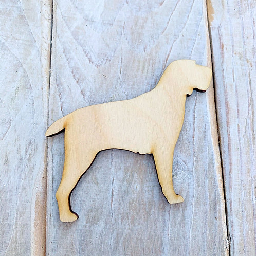 Plywood Skye Terrier Dog Shape 10 PACK