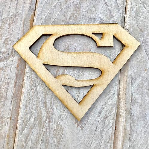 Plywood Super Hero Sign 10 Pack