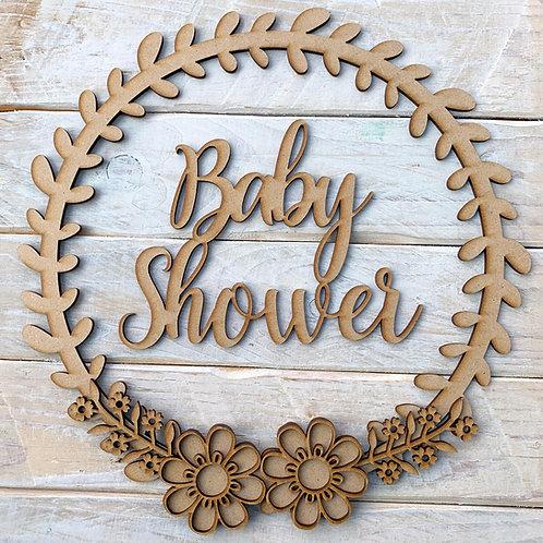 Laurel 1 Hoop Kit with Baby Shower