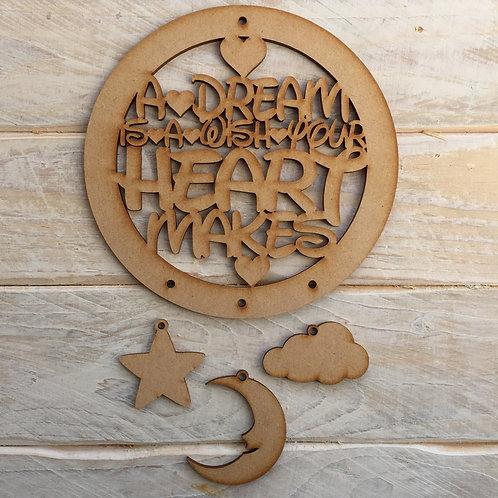 Dream catcher Dream Wish Heart Makes
