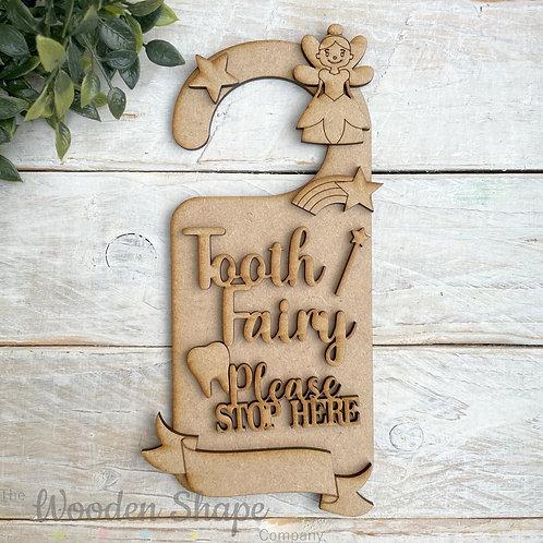 Door Hanger Layered Tooth Fairy