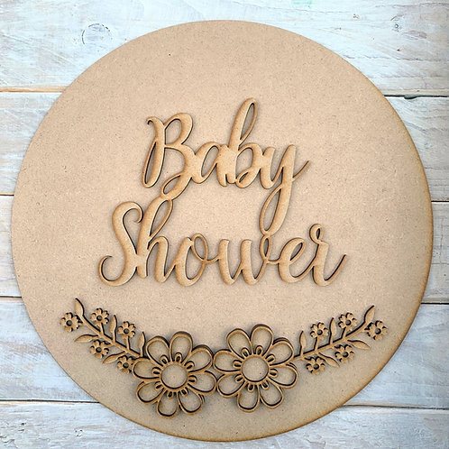Circle Kit with Baby Shower