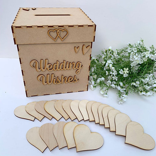 Build Your Own Wedding Wish Box