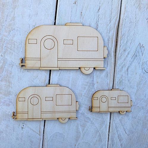 Plywood Caravan 10 Pack