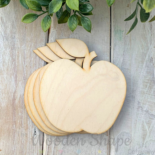 4 Pack Birch Plywood Apples