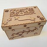 LASER CUT MDF CHRISTMAS EVE BOX BUILD YO