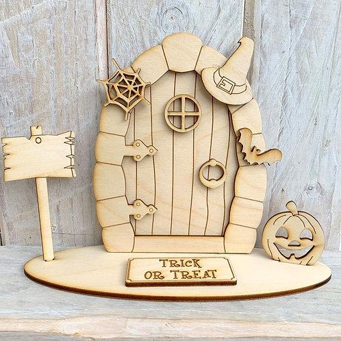 Fairy Door on Stand Trick orTreat