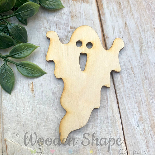 Plywood Ghost Shapes 10 Pack