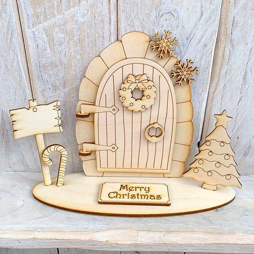 Opening Stand Fairy Door Christmas