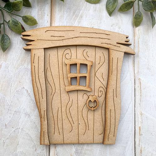 MDF Fairy Door Kit MDF WH